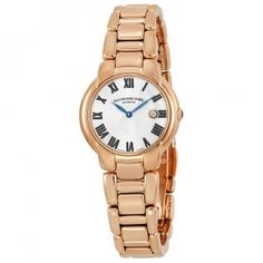 $399.00 (75% off) Jasmine Silver Dial Rose Gold PVD Steel Ladies Watch @ Jomashop - Bargain Bro