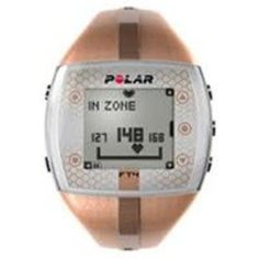 8620022 Heart Rate Monitor FT4F Female Silver/Black sold indivdually sold as Individually Pt #FitnessActivityMonitors