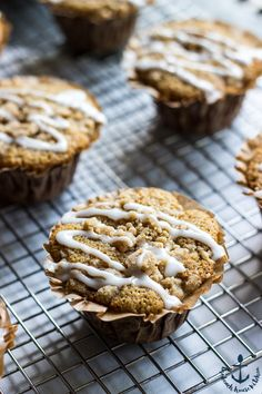 Apple Spice Crumb Muffins | The Beach House Kitchen