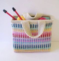 Scrap knitting bag Ideal for using up stash http://www.ravelry.com/patterns/library/scrap-bag