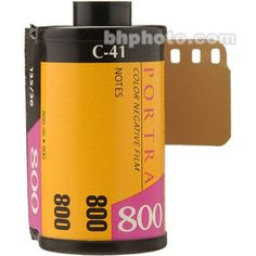 Kodak Professional Portra 800 Color Negative Film (35mm Roll Film, 36 Exposures)  As much as possible. 10+ Rolls?