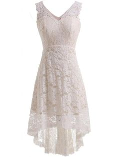 Looking for the perfect Joyno Bride V-Neck Lace Hi-Lo Ivory Evening Dress For Reception Wedding Dress As Picture)? Please click and view this most popular Joyno Bride V-Neck Lace Hi-Lo Ivory Evening Dress For Reception Wedding Dress As Picture). Lace Bridal, Short Lace Wedding Dress, V Neck Wedding Dress, Wedding Attire, Wedding Gowns, Simple Country Wedding Dresses, Elegant Wedding, Wedding Venues, Wedding Reception