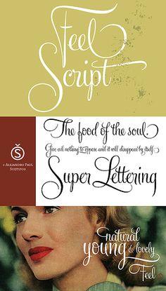 Feel Script.   sudtipos.com