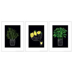 TRILLING Set di 3 poster - IKEA