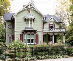 Pale Green Victorian