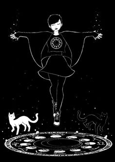 Before you even think about practicing magick, you need to study. It sounds tedious, I know, but witchcraft is not a trivial undertaking. Start a grimoire/Book of. Goth Wallpaper, Kawaii Wallpaper, Trendy Wallpaper, Witch Drawing, Art Tumblr, Illustrator, Image Manga, Art Anime, Modern Witch