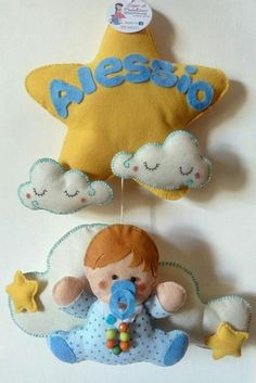 #fiocconascita#ribbon#babyboy#bebè#feltro#felt#maternitade#creativitá#creativemamy#creativity#sognidipannolenci