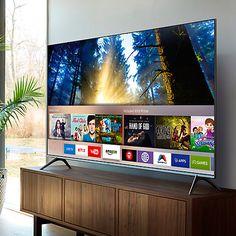 "Buy Samsung UE60KS7000 SUHD HDR 1,000 4K Ultra HD Quantum Dot Smart TV, 60"" with Freeview HD/Freesat HD, Playstation Now & Branch Feet Design, UHD Premium Online at johnlewis.com"