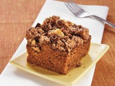 Gingerbread Coffee Cake #Ginger #coffee #justapinchrecipes