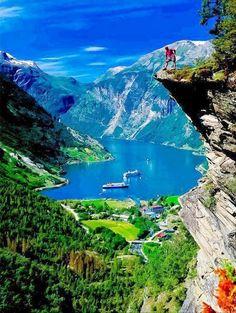 Geiranger, Fjord Norway I