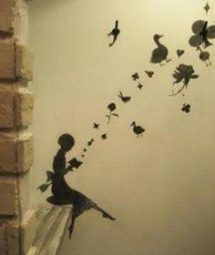 E' grazie alla penna dei poeti se le parole trovano il coraggio di staccarsi dai fogli per diventare immagini.  Tanya Bì