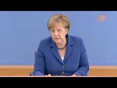 Kanzlerin Merkel zu Gewalttaten und Sicherheit in Deutschland, Terrorism...