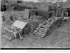 German grenade supply, WWI