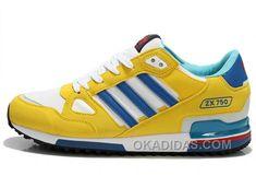 http://www.okadidas.com/adidas-zx750-men-yellow-white-blue-free-shipping.html ADIDAS ZX750 MEN YELLOW WHITE BLUE FREE SHIPPING Only $69.00 , Free Shipping!