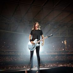 Dave Grohl in his element.