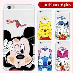 Cartoon characters Pattern case for apple iPhone 7 6 6s Plus 5 5s se 4 4s colorful Soft Silicone TPU back cover Protective shell