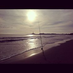 Amanecer en la playa #beach hermosa #sol #sunrise #faro headlight España