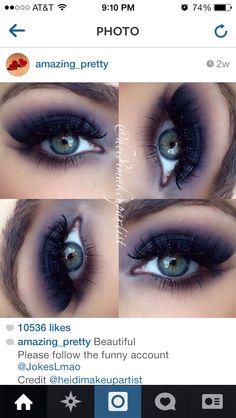 2d8ac71c755f8a Love this Glitter Makeup Tutorial