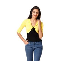 Buy Teemoods Ultrachik Royal Blue Shrug online for girls in India at reasonable price