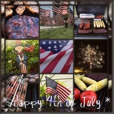 Fourth of July Collage