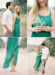 South of France Engagement by Jose Villa