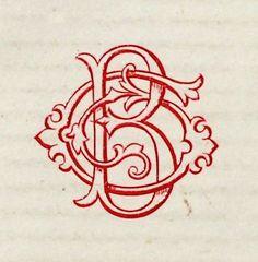 Nice ornamental initials.