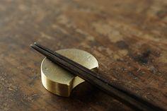 Futagami Chopstick Rest by Masanori Oji