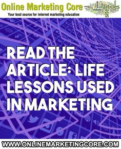 Life Lessons Used In Marketing Business Marketing, Internet Marketing, Online Marketing, Online Business, Digital Marketing, Life Problems, Need Money, What You Can Do, Helping People