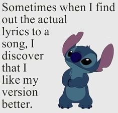 Lilo & Stitch Quotes, Amazing Animation Film for Children - to. - Lilo & Stitch Quotes, Amazing Animation Film for Children – tokyo - Funny True Quotes, Funny Relatable Memes, Cute Quotes, Funny Texts, Funny Disney Memes, Disney Quotes, Disney Sweatshirts, Disney Shirts, Lilo And Stitch Memes