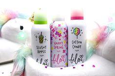 Glam & Shine: Bilou Duschschäume - Slushy Apple, Cotton Candy & Happy Spring