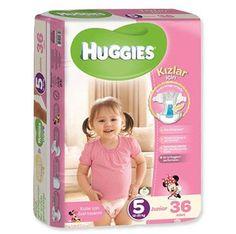 En iyi Huggies performansı Yeni Huggies kızların en çok ihtiyaç duydukları bölgelerde ekstra emicilik sağlar Kızlar için emici bölge ortada 3'lü cilt koruma ✓  Yumuşak iç tabaka ✓  Islaklığı kilitleyen tabaka ✓  Nefes alan dış yüzey