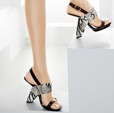 Bizarre, artsy shoes, pretty awesome