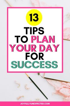 Are you tired of spinning your wheels when it comes to your to-do list?  here are 14 tips to have a successful day. #productivityhacks #productivitytips #timemanagementtips #homemanagementtips #howtoplanyourschedule #specialneedsmom Kids Schedule, Special Needs Mom, Working Mom Tips, Productivity Quotes, Planning Your Day, Daily Routines, Time Management Tips, First Time Moms, Life Tips
