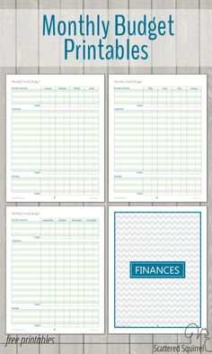 free printable budget worksheets download or print home