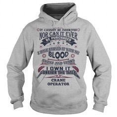 I Love CRANE OPERATOR T shirts