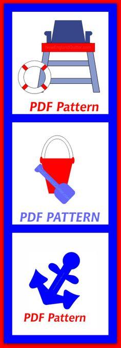 Applique Patterns PDF - Instant Download by NewEnglandQuilter on Etsy