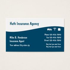201 best auto insurance business cards images on pinterest in 2018 multiple line insurance business cards colourmoves