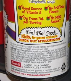 Mmmm, mmmm, not so good! The Truth in Food Labeling – Food Additives to Avoid & Hidden Sources of MSG