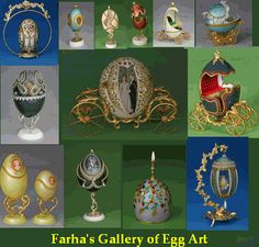 Farha's Egg Decorations - Egg Art in India, Decorated Ostrich, Emu, Rhea and Goose Eggs