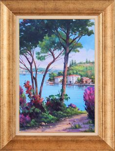 Academic Art, Landscape Drawings, Istanbul, Frame, Home Decor, Bikini, Paintings, Painting Art, Paisajes