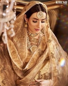 Kas beauty :: Khush Mag - Asian wedding magazine for every bride and groom planning their Big Day Asian Bridal Hair, Bridal Hair And Makeup, Indian Bridal, Bridal Beauty, Hair Makeup, Wedding Makeup, Pakistani Bridal Dresses, Pakistani Outfits, Indian Dresses