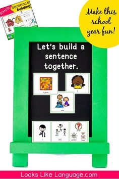 This interactive picture card set helps you differentiate instruction for mixed level groups. Your students will learn to understand sentence structure and expand basic sentences while having fun with games, sorting mats, group and individual activities, spinners, and worksheets at varying levels. Perfect for limited readers, ESL, speech therapy, centers or stations, and ASD.