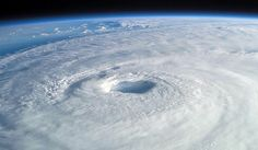 Hurricane Isabel, as seen from space. Credit: Mike Trenchard, Johnson Space Center.