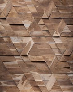 The new collection @ InteriHOTEL in Barcelona #wood #geometry #design
