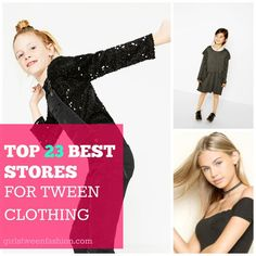 The 23 Best Stores for Fashionable Girls Tween Teen Clothing . Tween Fashion, Girl Fashion, Fashion Show, Fashion Tips, Fashion Trends, Cute Clothing Stores, Teen Clothing, Outfits For Teens, Cool Outfits