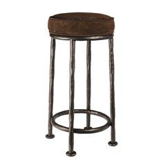 Gilles Bar Stool Contemporary, Transitional, Metal, Barstools Counter Stool by Ironware International Leather Counter Stools, Metal Bar Stools, Unique Bar Stools, Upholstered Bar Stools, Outdoor Lounge Chair Cushions, Eclectic Kitchen, Wall Bar, Rustic Interiors, Kitchen Styling