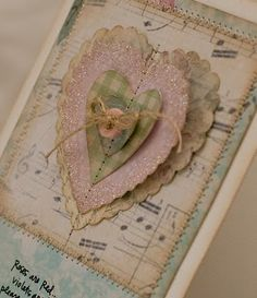 Looks vintage...pretty three dimensional heart !!!