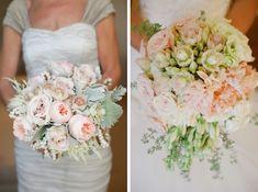 blushing bride proteas   Krista Jon/David Tosti  (left); Flourish/Allison Stahl (right); R