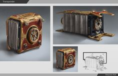 ArtStation - Antique transponder in museum, Daeyoon Huh