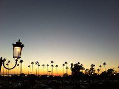 At New Port Beach, CA. October 2012.